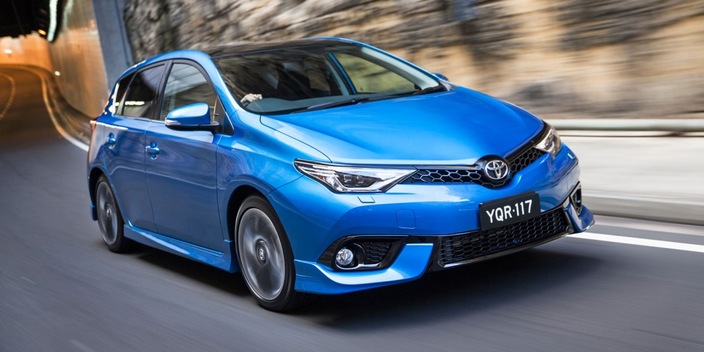 Top shelf: Toyota's Corolla is expected to grasp the top-seller's trophy again this year as Australia's new-vehicle market cruises into record sales territory.
