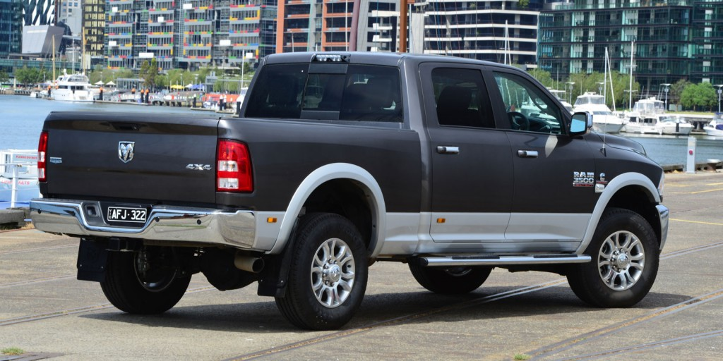 Go figure: American Special Vehicles plans to sell around 600 Rams in Australia next year, with the first 100 already covered by forward orders.
