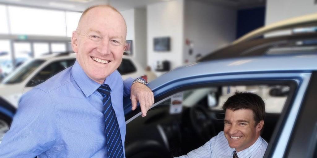 Crick Auto Group directors Garry Crick (left) and John Eastham