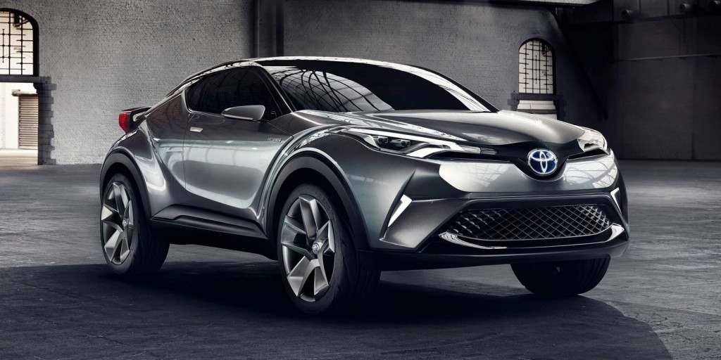Big future: The production version of the C-HR concept could add between 10,000 and 15,000 of sales to Toyota's tally when it eventually arrives Down Under.