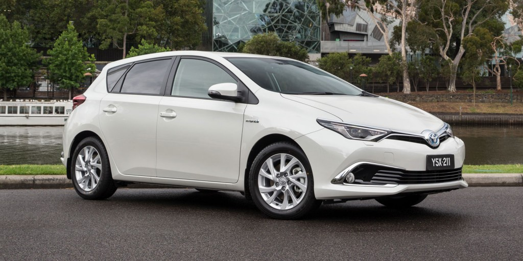 Walking the talk: Toyota's Corolla hybrid hatch might account for more than 50 per cent of the model's sales in western Europe (where it is sold as the Auris), but Australia is a much tougher market to crack.