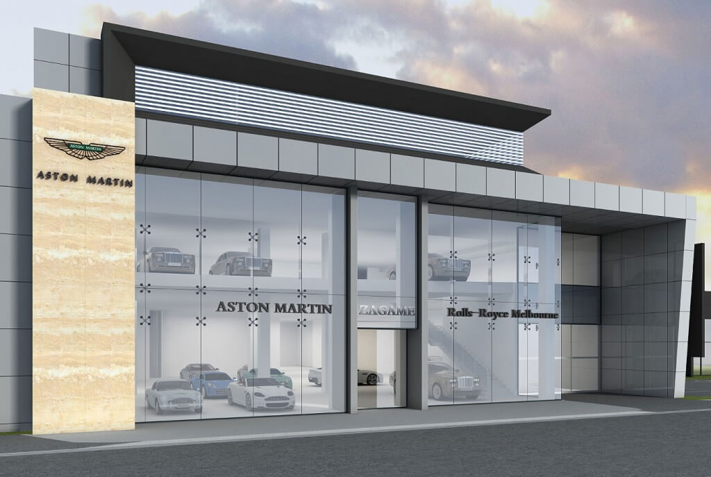 First look: Zagame Automotive Group will open its Rolls-Royce and Aston Martin showroom in Richmond later this year