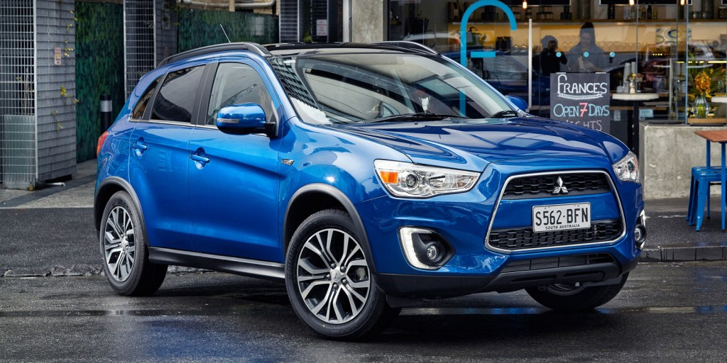 Riding high: The ASX was Mitsubishi's top-selling SUV last year with 13,557 units, but its passenger car sales were off the pace compared with 2014.