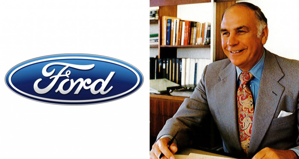 Big boss: Ford Asia-Pacific's former vice-president, and the first Australian managing director of local operations, Sir Brian Inglis has passed away aged 90.