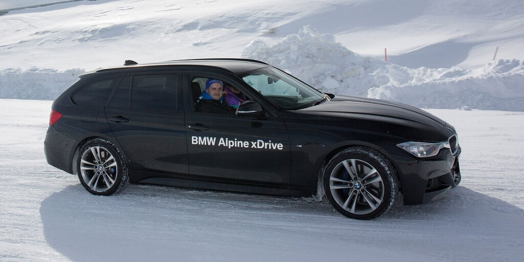 Cool winner: Elmir Vidimlic won a trip to BMW's 'Alpine xDrive Experience' in New Zealand as part of his 2015 Technician of the Year award.