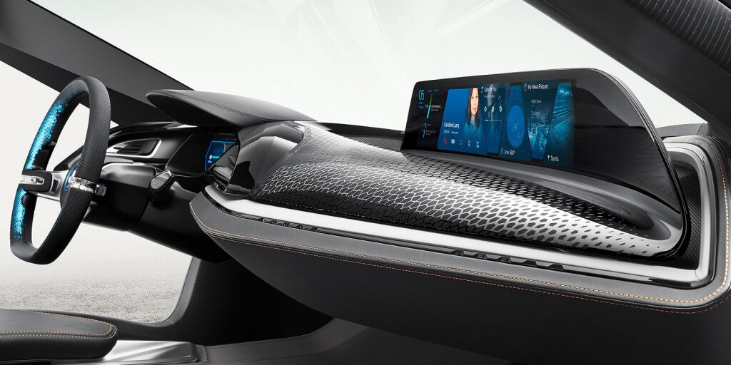 Catch a wave: BMW's answer to ever-more complicated car control technology is the AirTouch system that uses hand gestures to navigate the dash-mounted screen.