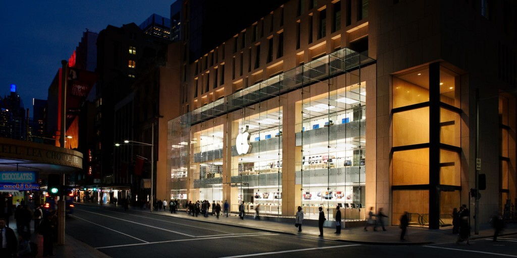 Ford Australia has 'drawn ideas' from non-auto retail outlets such as Apple's iStore.