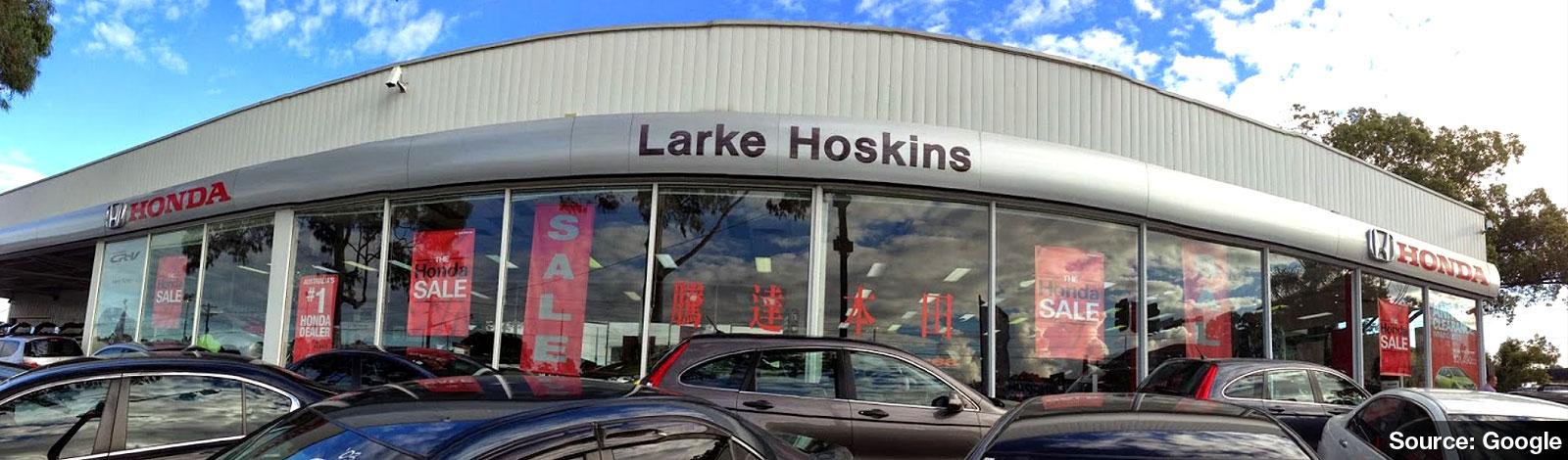 Larke hoskins honda service