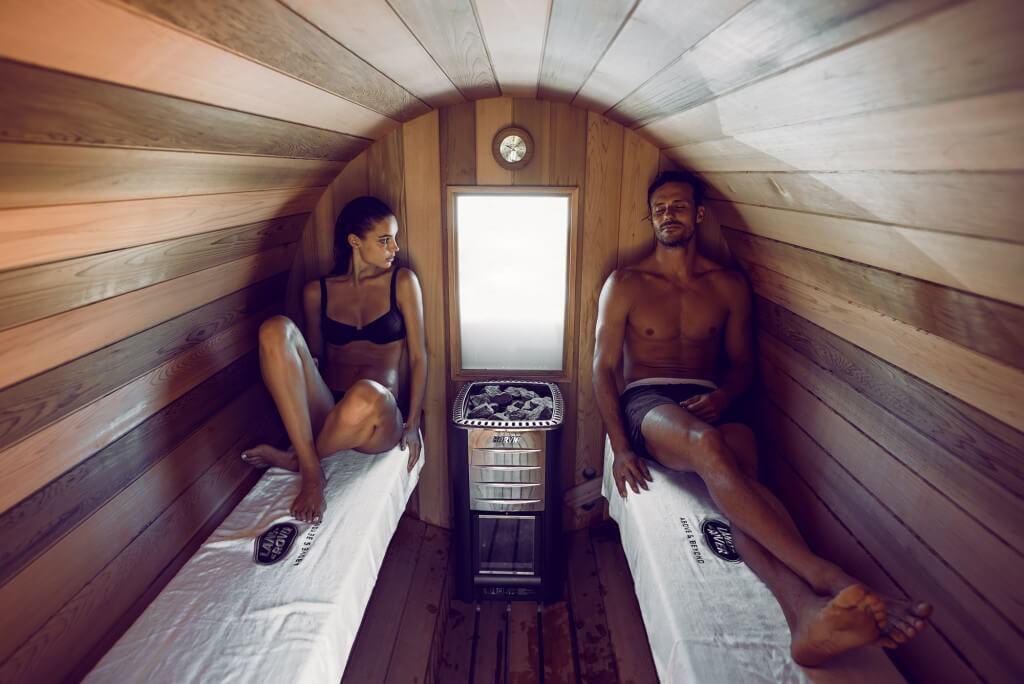 Land Rover Adventure Sauna