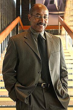 Outgoing vice president of General Motors global design Ed Welburn.