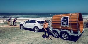 Land Rover Sauna
