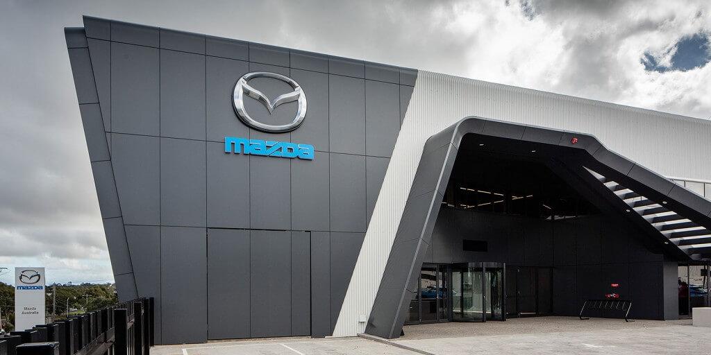 New Mazda headquarters