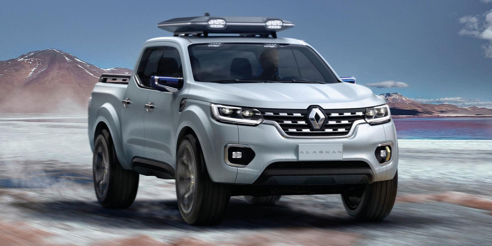 Renault Alaskan Concept Lower Image on Jeep Wrangler Renegade Concept