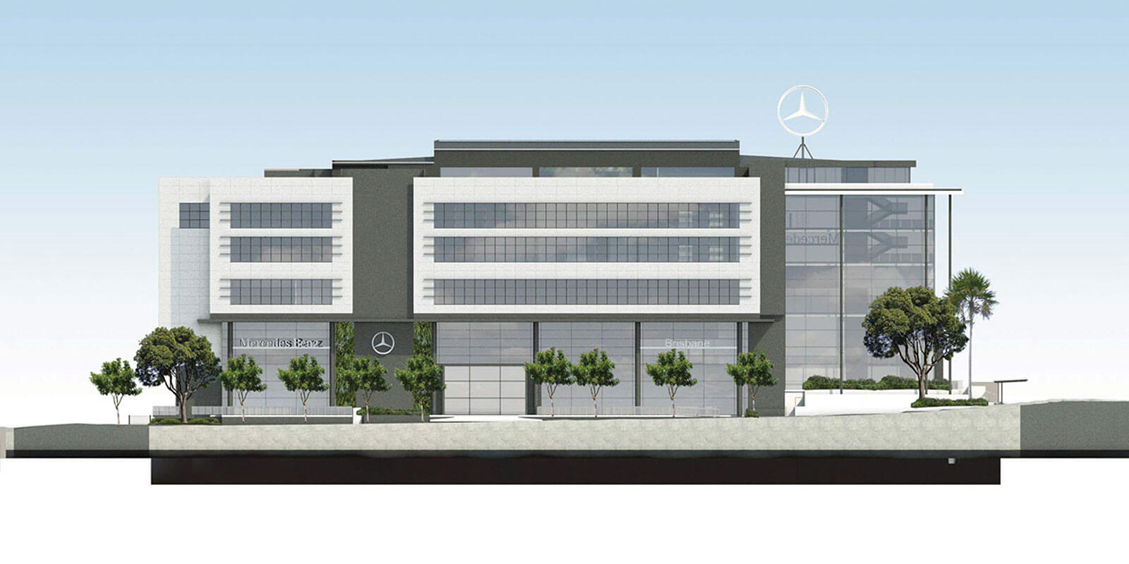 Mercedes to get five-storey store in Brisbane