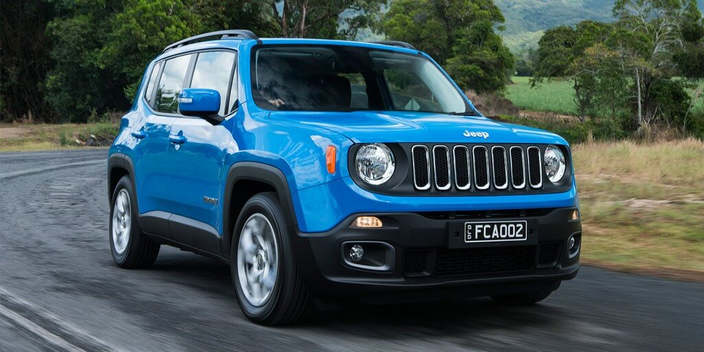 Little battler: The Renegade has sold in low numbers since its launch late last year, but Jeep should get a shot in the arm when the replacement for the Compass and Patriot twins arrives next year.