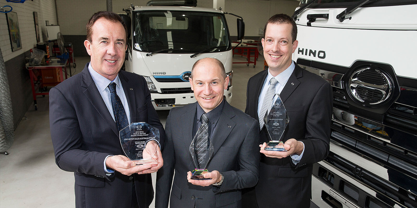 Hino Australia still on top of the world