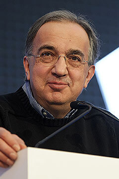 Role with it: Sergio Marchionne has taken on yet another role, adding Ferrari CEO to a number of other board member positions including FCA, Exor and Philip Morris.