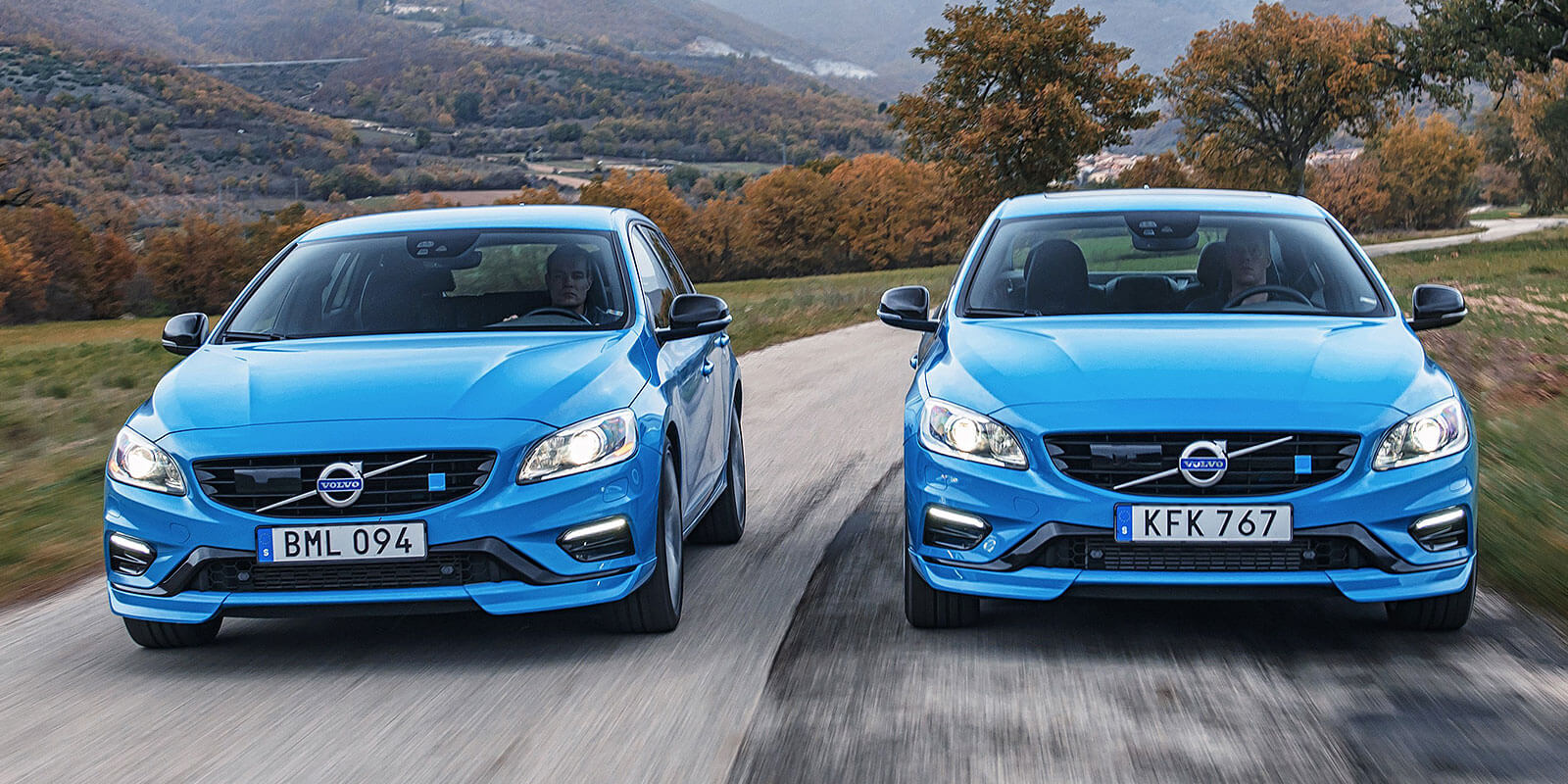 Volvo S60 and V60
