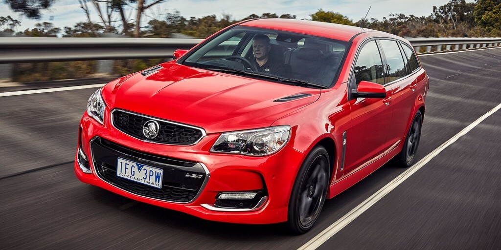 Made in Australia: Local Holden production fell in 2015 by 12 per cent to 56,786 vehicles (64,341) of its Commodore and Cruze ranges.