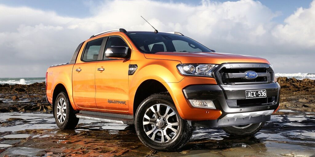Top seller: The Australian designed and engineered Ranger pick-up was Ford's best selling model in Australia last year, but the company posted a $162.3 million loss.