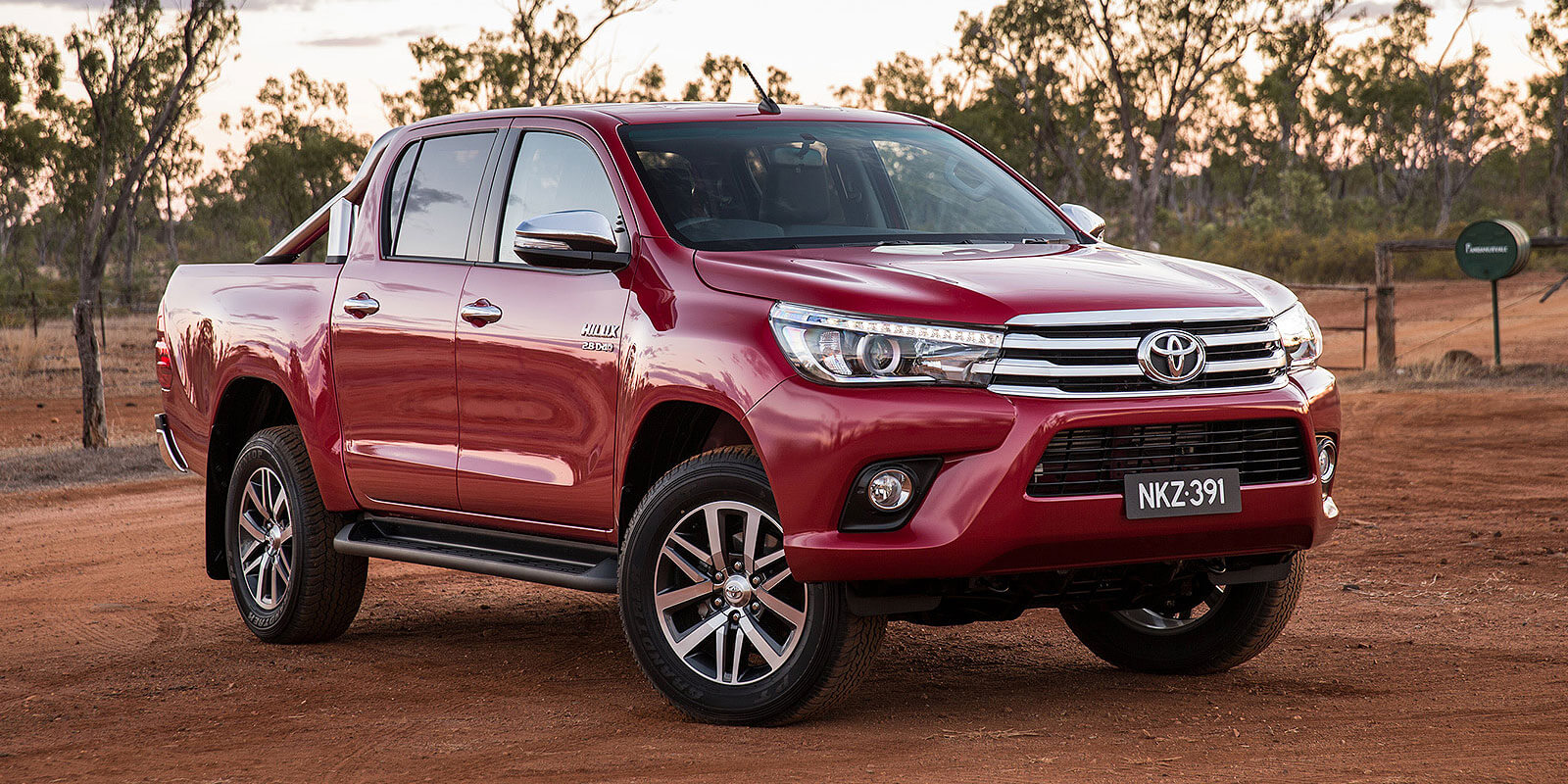 Hi achiever: One of Toyota's most popular models is the HiLux ute which arrived in new-generation guise in October last year.