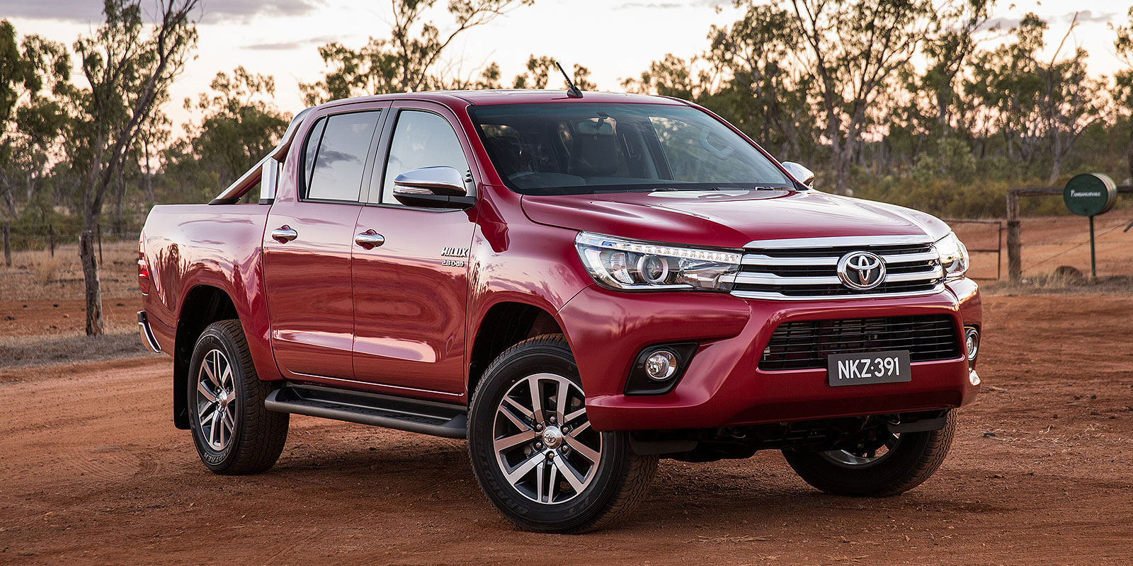 Frontrunner: Toyota points to favourable economic conditions and vigorous competition as reasons behind the strong new-vehicle market overall, typified by its top-selling HiLux.