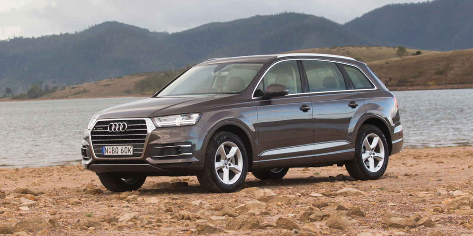 Form a Q: Audi is still third in the overall global sales tally but its Q7 SUV has had a big six months, lifting by 73.6 per cent compared with the same period last year.