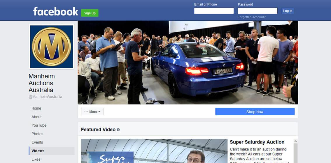 Facebook boosts Manheim audience and sales