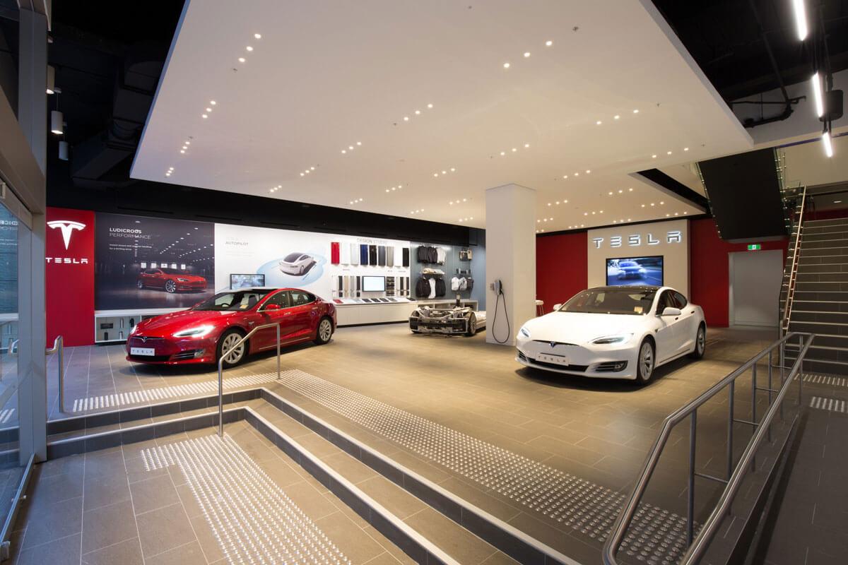 Tesla Sydney Martin Place