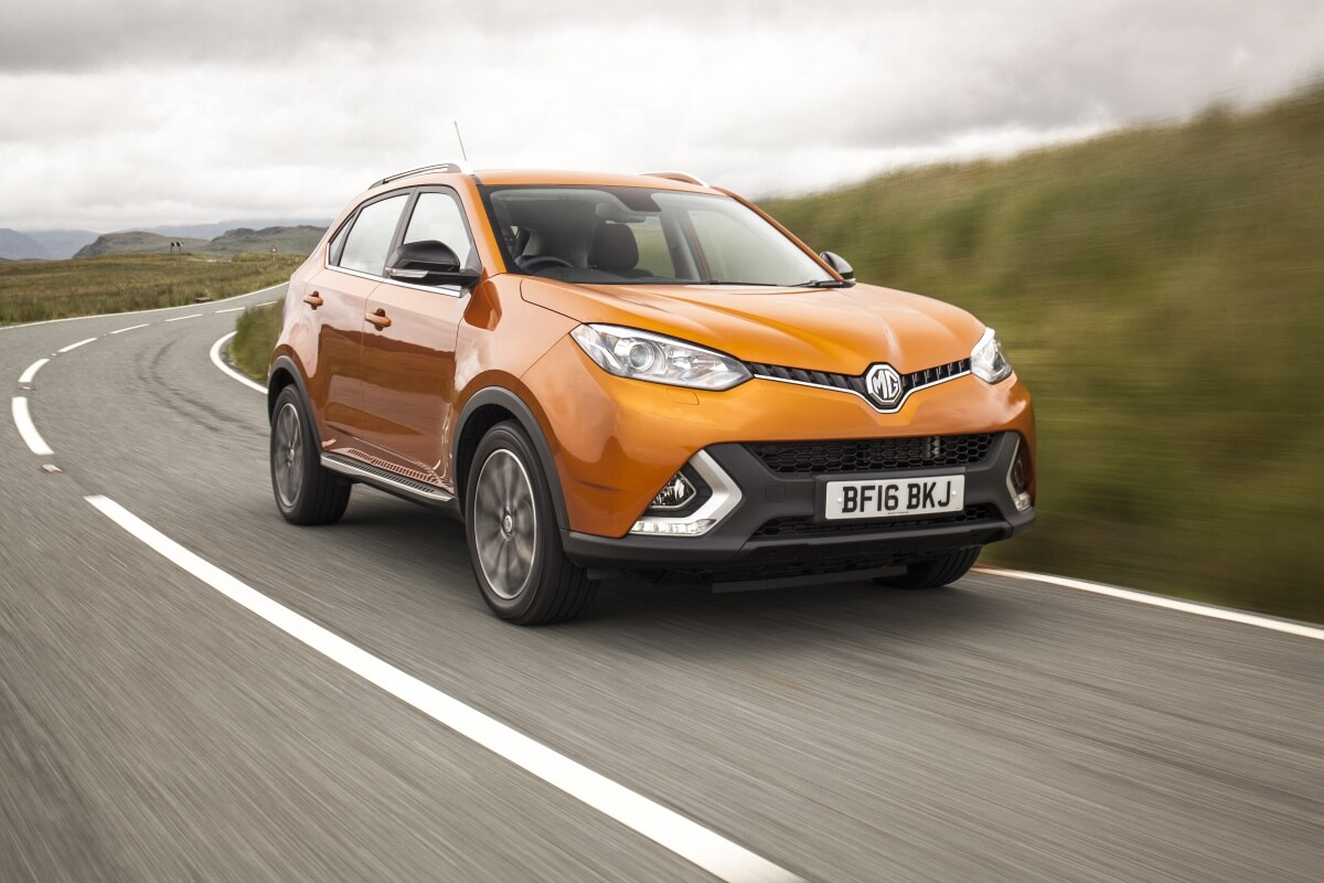 Centre piece: The all-new mid-size GS is understood to be the first of a three-tiered SUV program in development at MG, with a smaller crossover and a larger wagon set to join the reborn British brand in the next few years.