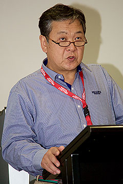 Global experience: Hiroshi Nishizaka has held key roles for Isuzu in international markets over his 32-year career, most recently as chief of Isuzu Truck South Africa.