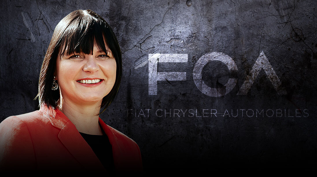 Further claims: Former FCA Australia president and CEO Veronica Johns has been officially added as a respondent to the lawsuit brought against her old colleague Clyde Campbell.