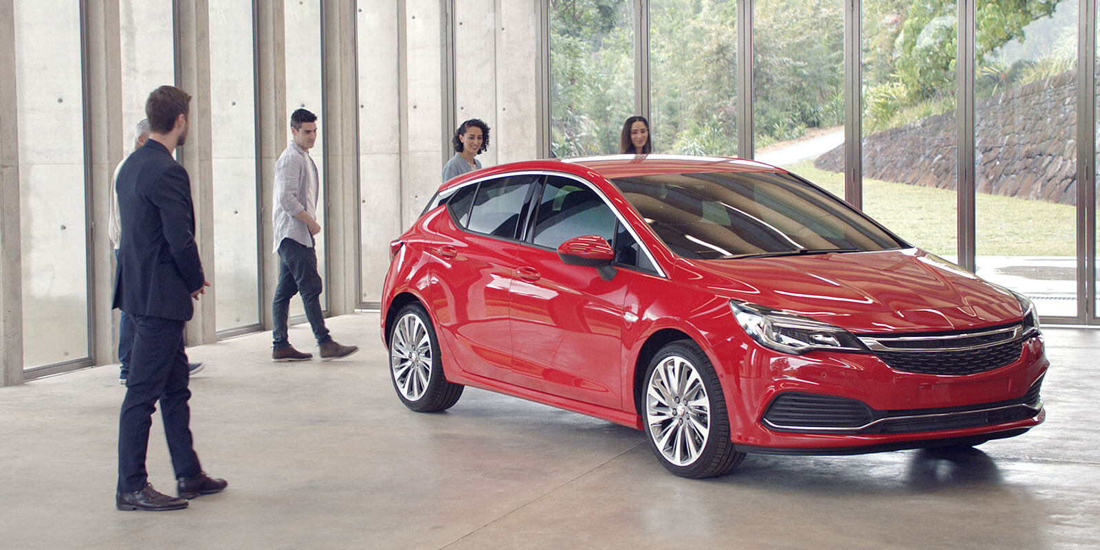 Euro zone: Models such as the European-built Astra that arrives in November could help change Holden's image in Australia.