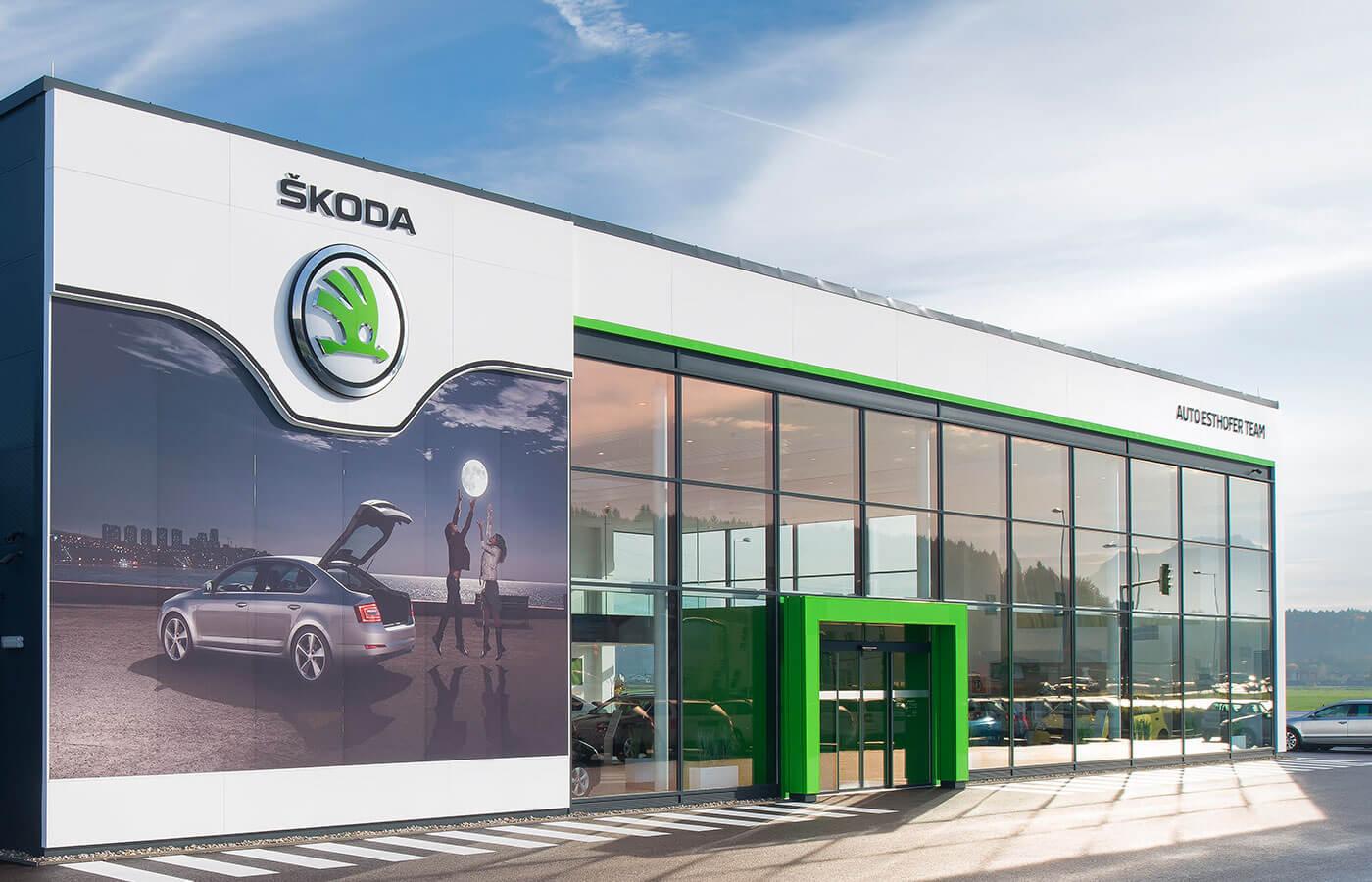 Skoda Spends Big On Dealer Rebuild