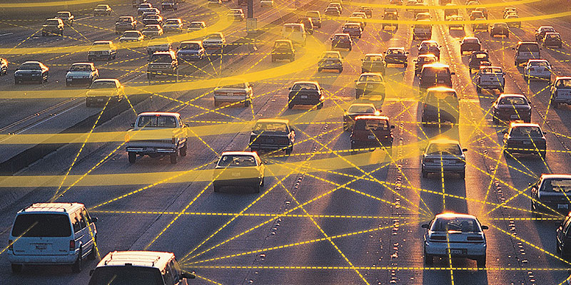 It's all connected: The large amounts of data being gathered but various OEM sensors could be utilised by officials to plan better intelligent transport systems.