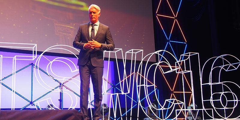 Scott Charlton at the ITS World Congress