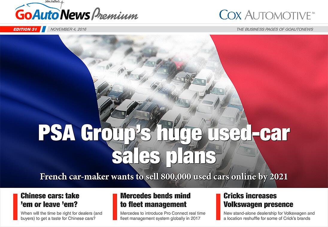 GoAutoNews Premium Weekly Editions, November 4