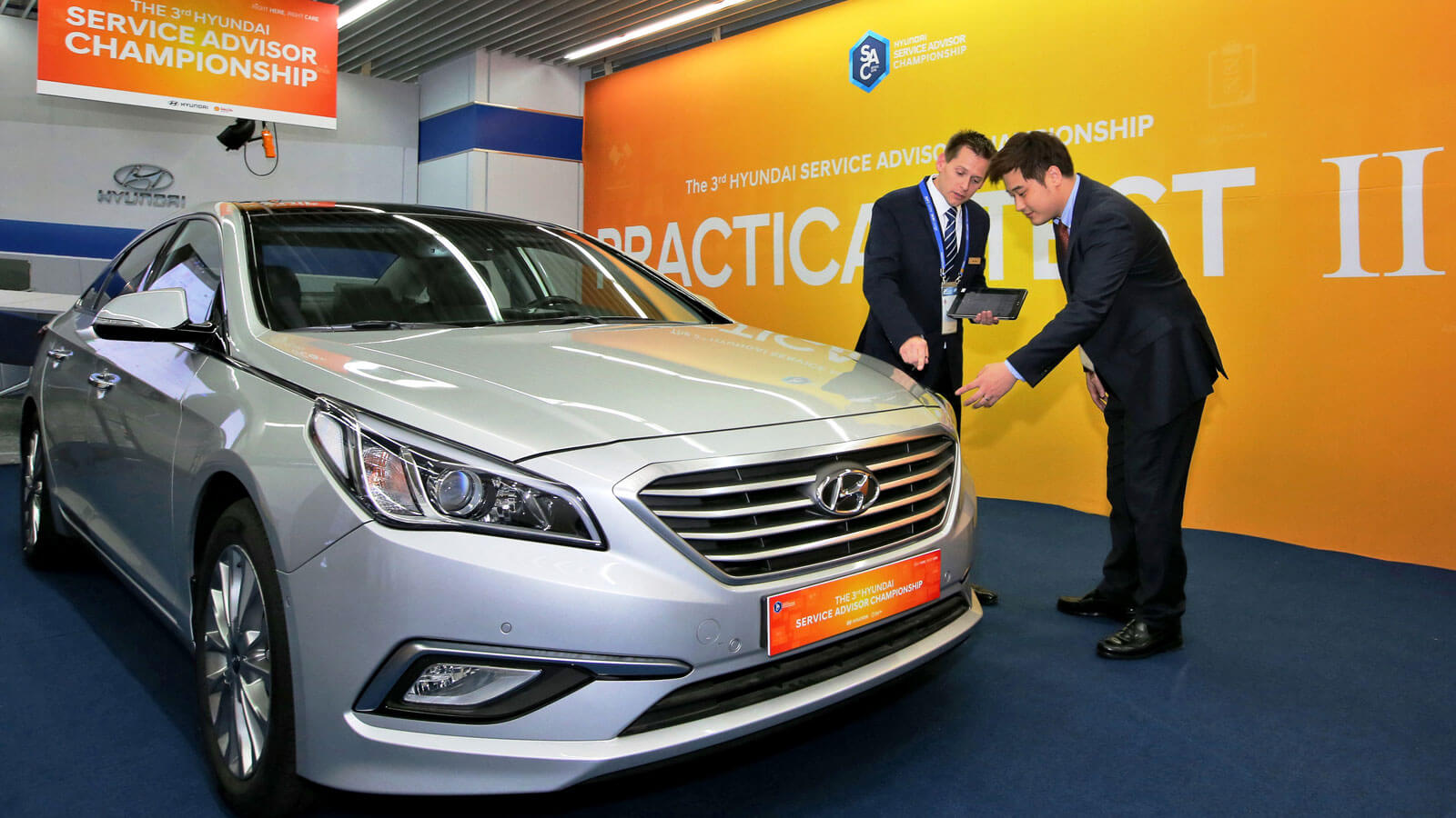 world stage for hyundai kia service advisers