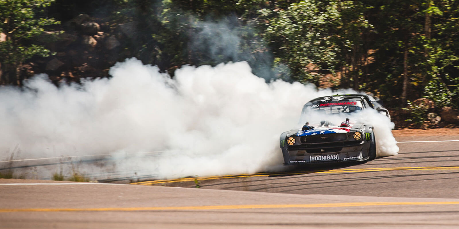 Viral video star Ken Block pushes Proxes R888R on Pikes Peak