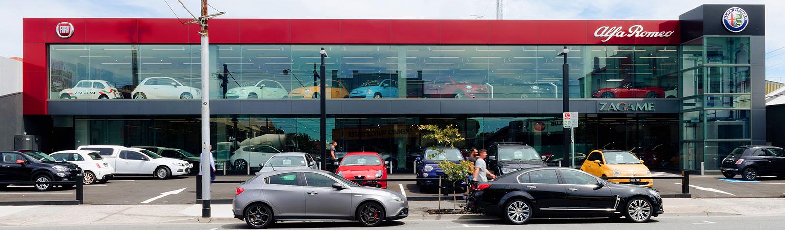 Alfa Romeo flagship opens