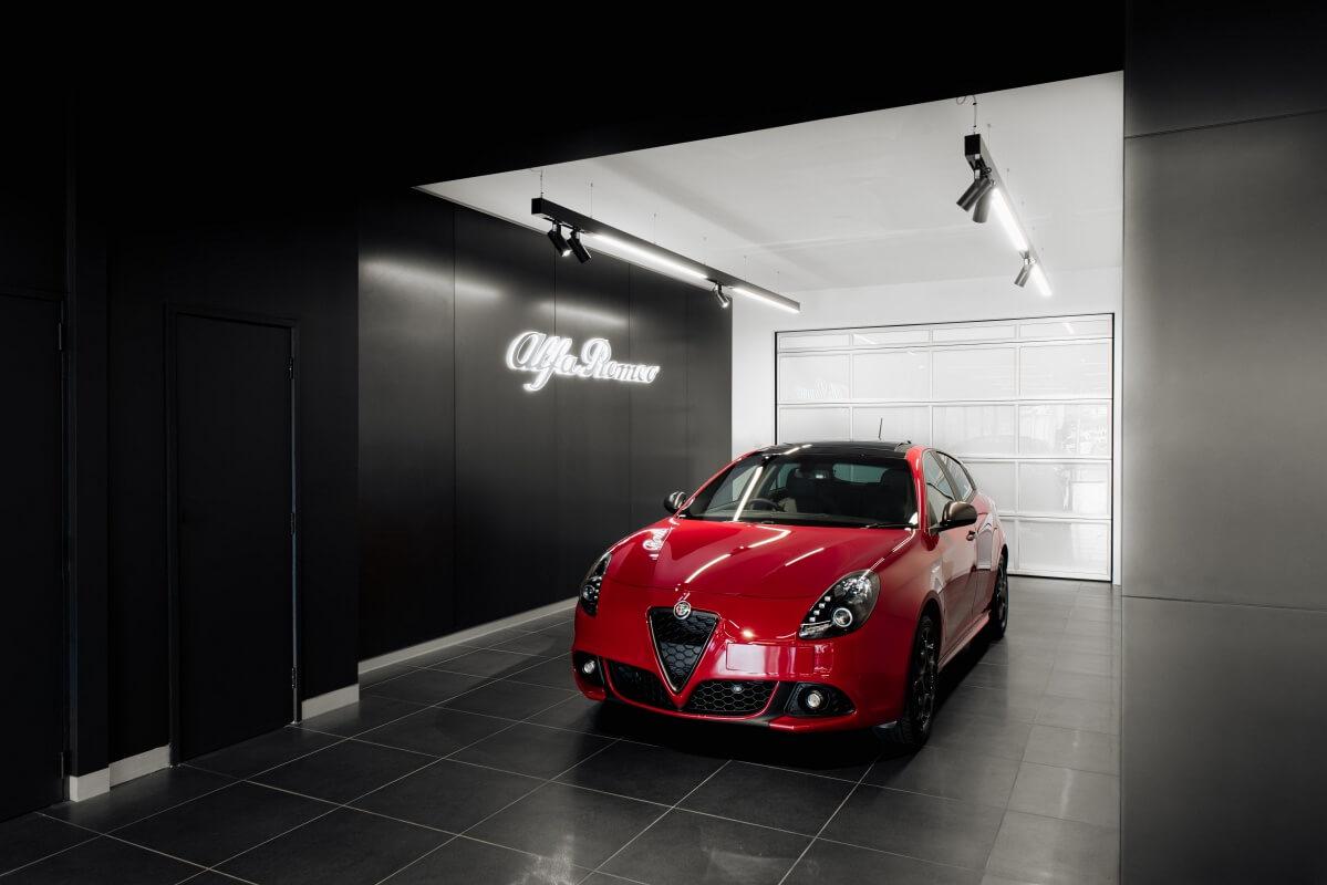 Alfa Romeo Flagship Opens Umbrella Zagame