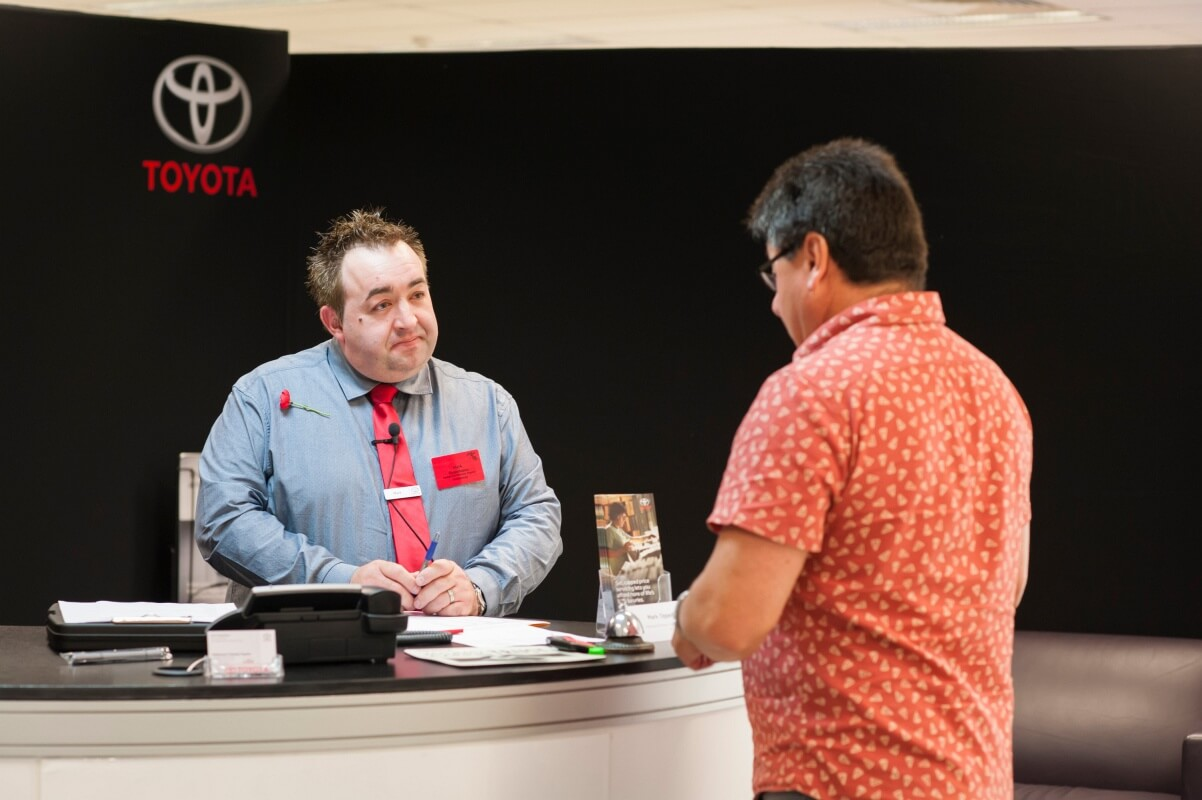 toyota awards best of the best goautonews premium service advisor champion mark oppedisano