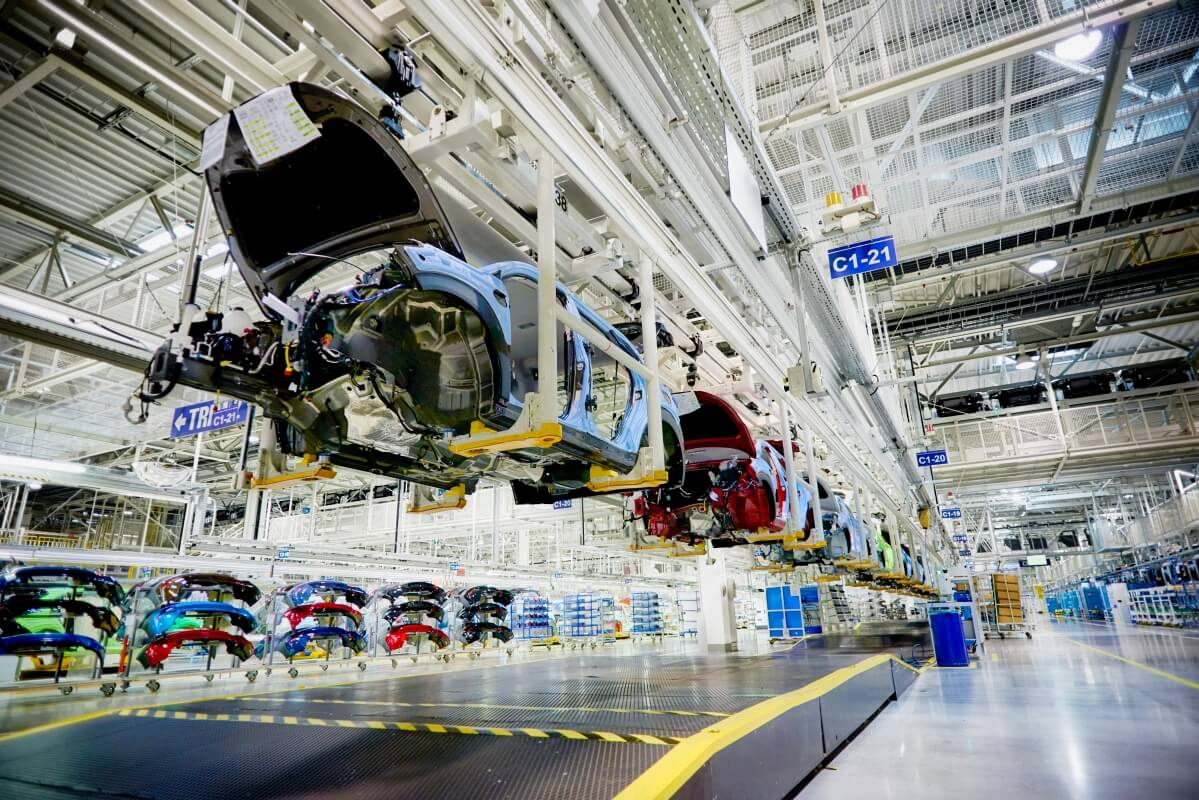 Czech this: Hyundai's European factory in the Czech Republic can turn out 350,000 cars a year, with some bound for Australia.