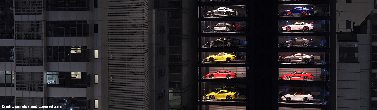 Exotic Car Vending Machine