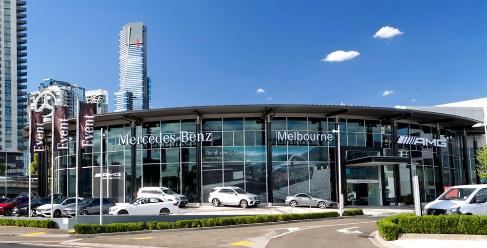 Mercedes sells melbourne dealerships goautonews premium for Mercedes benz dealer northern blvd