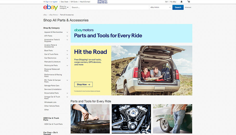 Online car parts outsell groceries