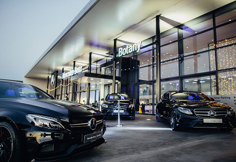 Armstrongs opens nz s biggest mercedes showroom for Mercedes benz of palm beach staff