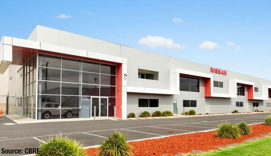 Nissan sells local HQ