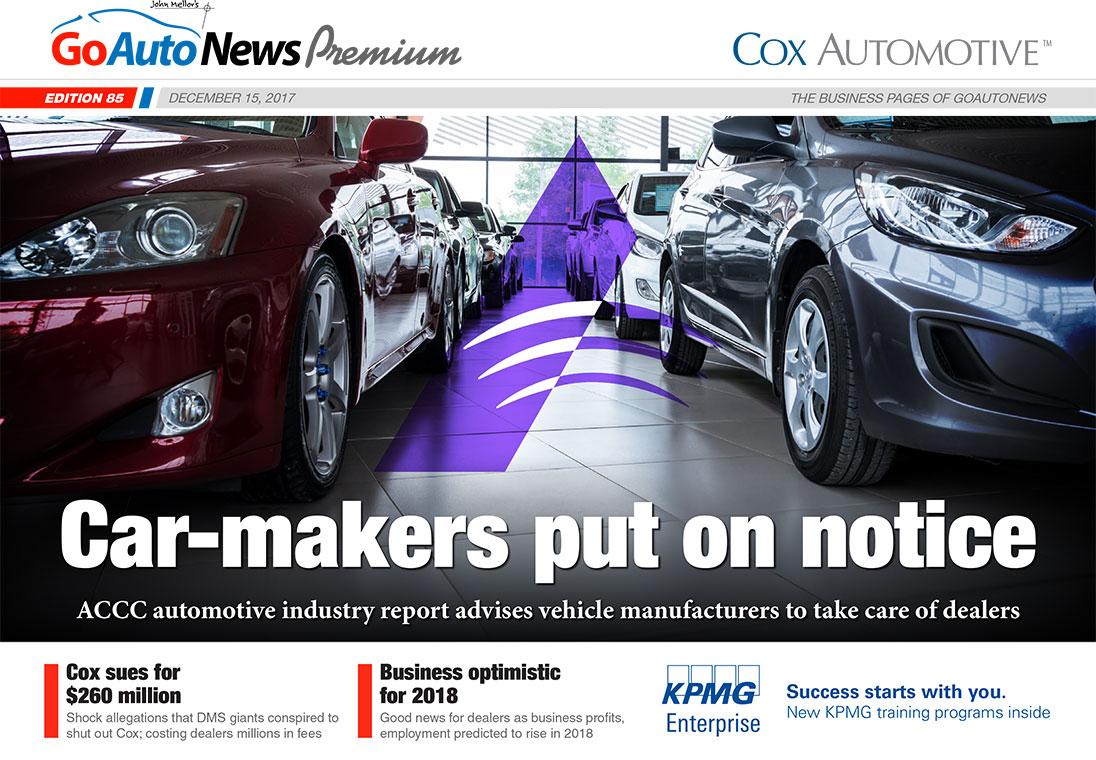 GoAutoNews Premium Weekly Editions, December 15