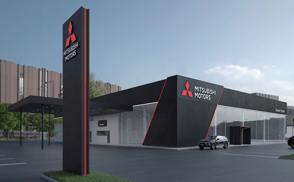 Mitsubishi reveals its new CI